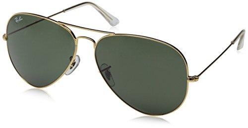 ray-ban-occhiali-da-sole-rb3026-aviator-large-metal-ii-l2846-oro-arista