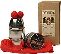 Cups and Balls w/Chop Cup Aluminum Combo