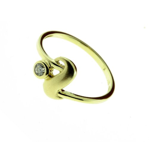 Damen Ring echt Gold 333 8 Karat