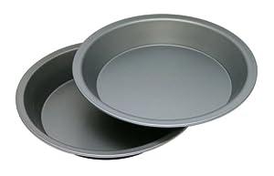 OvenStuff Non-Stick 9 Inch Pie Pan Two Piece Set