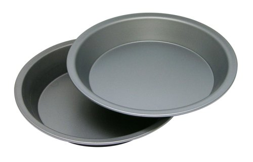 OvenStuff Non-Stick 9 Inch Pie Pan Two Piece Set (Metal Pie Pans compare prices)