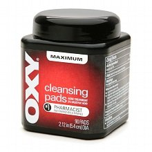 Oxy Cleansing Pads Acne Treatment Maximum (Quantity of 2)