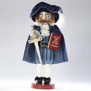 Kurt Adler 17-Inch Limited Edition Steinbach Hamlet Prince of Denmark Signed Nutcracker by Steinbach Nutcrackers