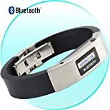Bluetooth Bracelet with Vibration and LCD Display WOW No More Missed Calls !