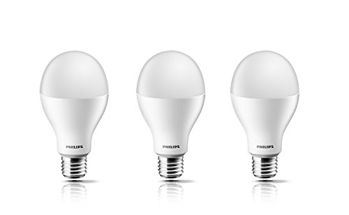 Philips 14W E27 LED Bulb (Cool Day Light, Pack of 3)