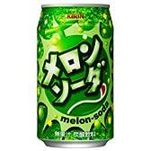キリン メロンソーダ 350ml缶×24本入