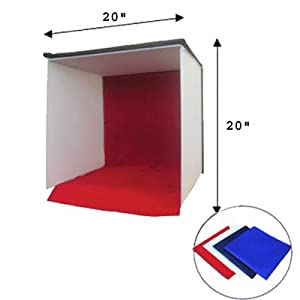 CowboyStuido 20-Inch Photography Easy-carry Square Tent Studio Light Box/Tent