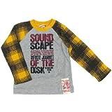 Biquette BOY(ビケットボーイ) ワッフル袖ロング長袖Tシャツ (イエロー/サイズ80)
