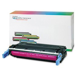 Media Sciences 40998 Remanufactured Toner Cartridge for HP C9723A (641A)