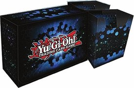 Konami Yugioh Card Game Storage Blue Dual Double Deck Box