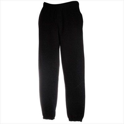 JOGGINGHOSE-ELAST-BUND-FRUIT-OF-THE-LOOM-S-M-L-XL-XXL-LBlack