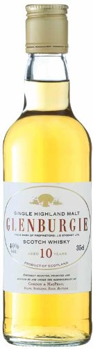 Whisky - Glenburgie 10 Year Old Speyside Single Malt Half Bottle