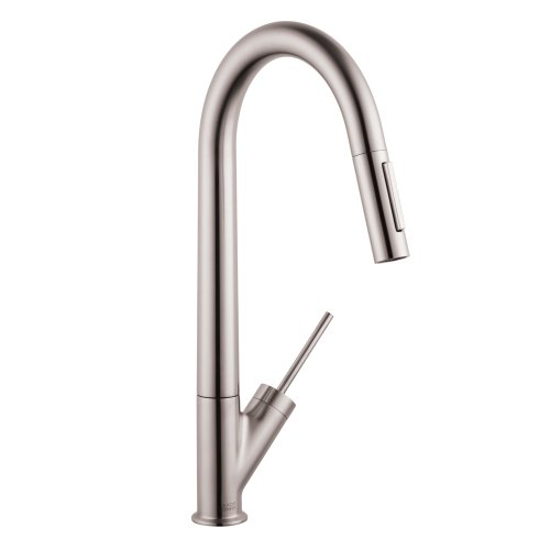 flpx bkpxy otu hansgrohe 10821801 starck high arc kitchen