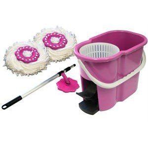 360 Degree Spin Mop & Spin Dry Bucket - Color may vary