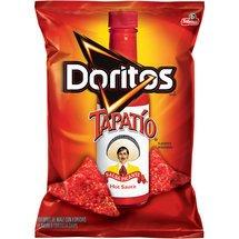 Frito Lay, Doritos® Brand, Tapatio Hot Sauce Flavored Tortilla Chips, 11oz Bag (Pack of 3)