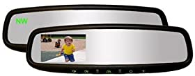 GENTEX GENK3345S High Definition Rear Camera Display Mirror with Compass, Homelink and Camera