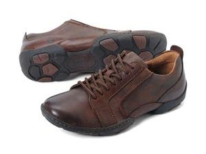 Born Men's Davey Casual Oxford (10, Chestnut)
