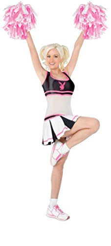 Playboy Womens Cheerleader Party Outfit Fancy Dress Sexy Costume