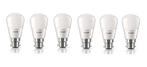 Philips-2.7W-B22-6500k-LED-Bulb-(Cool-Day-Light,-Pack-of-6)