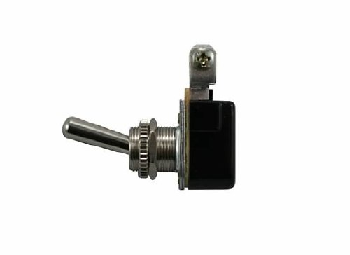Jt&T Products (2641F) - 15 Amp @ 12 Volt - S.P.S.T., Bakelite On/Off Toggle Switch With Two Screw Terminals