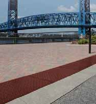 UltraTech 0761 Urethane Retrofit Ultra-ADA Warning Pad with Raised Truncated Dome Design, 4\' Length x 2\' Width, Brick Red