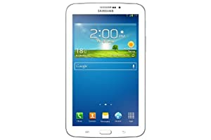 Samsung Galaxy Tab 3 17,8 cm (7 Zoll) Tablet (1,2GHz, Dual-Core, 1GB RAM, 8GB interner Speicher, 3,0 Megapixel Kamera, 3G, WiFi, Android 4.1) weiß