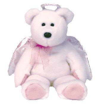 1 X TY Beanie Buddy - HALO the Angel Bear - 1