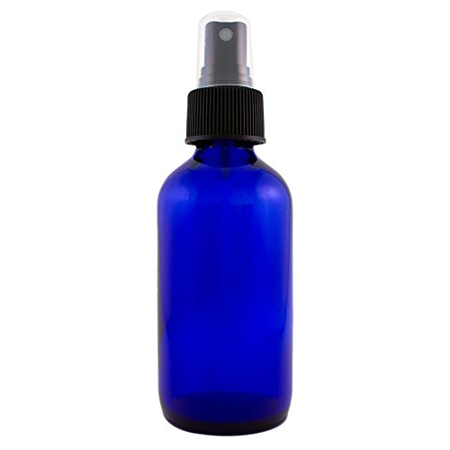 My Oil Gear Blue 4oz Glass Bottle with Pump for Essential Oils (4-pack) (Gear Oil Pump Bottle compare prices)