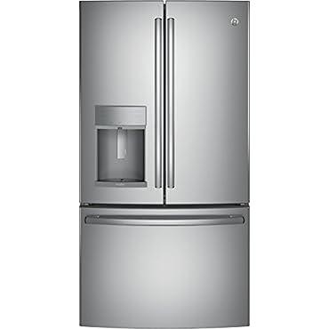 GE Profile PYE22KSKSS 36 French Door Refrigerator (Stainless Steel)