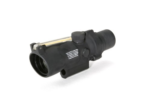Acog 3 X 24 Scope Dual Illuminated Crosshair Reticle, Amber