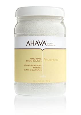 Cheapest AHAVA Relaxation Mineral Bath Salts, Honey-Herbal, 32 oz. by AHAVA - Free Shipping Available