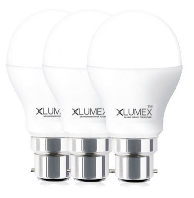 10W ECO LED Bulb (Set Of 3)