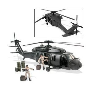 Buy Low Price M & C Toy Power Team Elite: Army Combat Helicopter Figure (B0006NDBMA)
