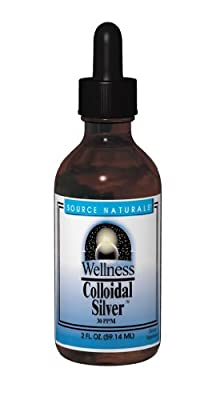 Source Naturals Wellness Colloidal Silver, 30 ppm, 2 Ounce (Pack of 3)