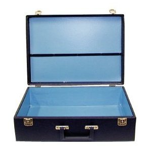 City Lights Duratex Train Case Super Jumbo # 616Dx-Black