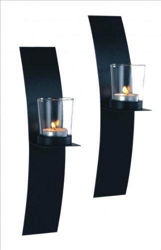 g stig online shoppen kerzen wandhalter metall platte im. Black Bedroom Furniture Sets. Home Design Ideas