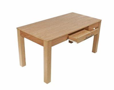 Oakwood 1500 Rectangular Straight Desk/ Keyboard Drawer