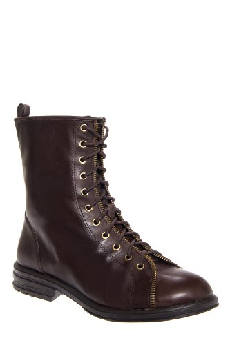 BCBGeneration Emilio Low Heel Lace Up Combat Boot