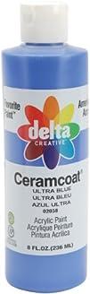 Ceramcoat Acrylic Paint 8 oz Ultra Blue