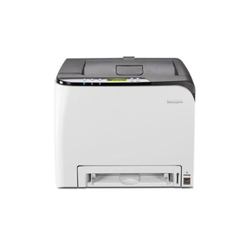 Ricoh Sp C252Dn Laser Printer - Color - 2400 X 600 Dpi Print - Plain Paper Print - Desktop - 21 Ppm Mono / 21 Ppm Color Print - 251 Sheets Input - Automatic Duplex Print - Lcd - Fast Ethernet - Wireless Lan - Usb - Pictbridge