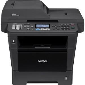 Brother MFC-8810DW Wireless 40PPM Monochrome Laser Printer with Scanner, Copier and Fax with Advanced Duplex and Wireless Networking