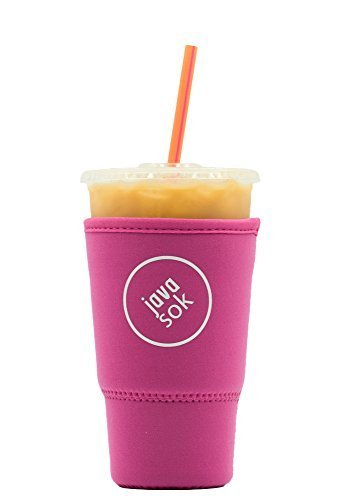 iced-java-sok-bright-pink-large-perfect-fit-neoprene-cup-sleeve-for-dunkin-donuts-and-starbucks-and-