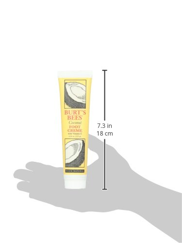 Burt's Bees小蜜蜂 椰子油足部修护霜 120g图片