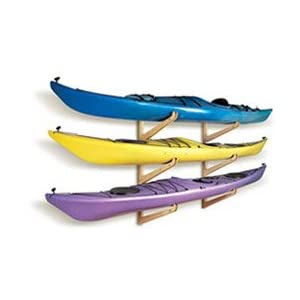 Click to read our review of Kayak Storage Racks: Talic Kayak Condo 2