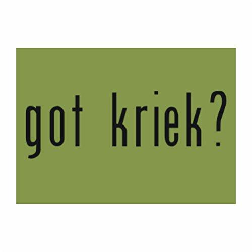 teeburon-got-kriek-sticker-pacchetto-di-4