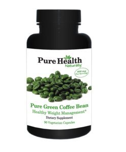 Pure Health Pure Green Coffee Bean, 400 mg per Capsule, 30 Vegetarian Capsules