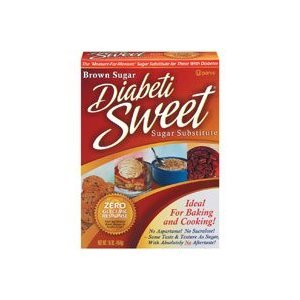 Diabetisweet Brown Sugar Substitute 16 Oz 454