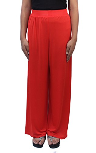 Romano Women's Orange Plazo Pant