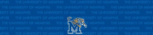 Memphis Tigers Team Auto Visor Decal
