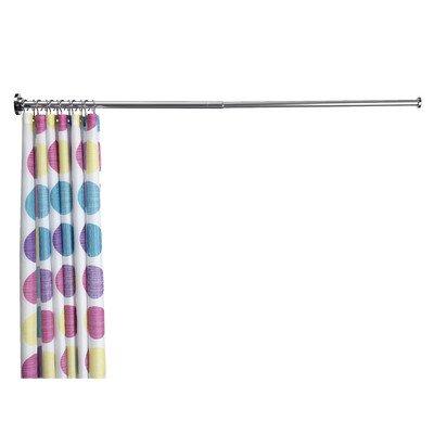 Teleskopische Stange für Duschvorhang